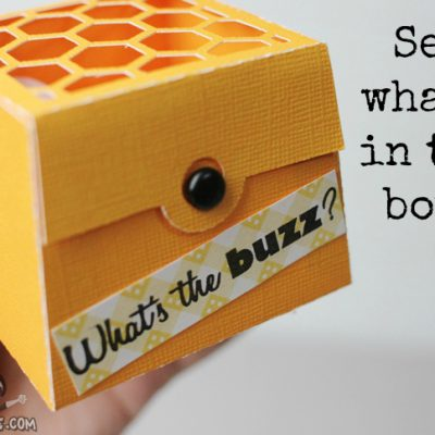 3D Bee Box Surprise – Lori Whitlock Design Team