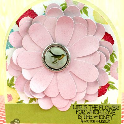Floral Mother's Day Card – Glue Dots Design Team Post
