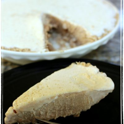Peanut Butter Ice Cream Pie Recipe