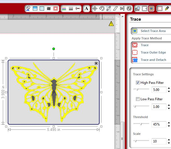 Free Butterfly Printable & How to Use with Silhouette Software ...