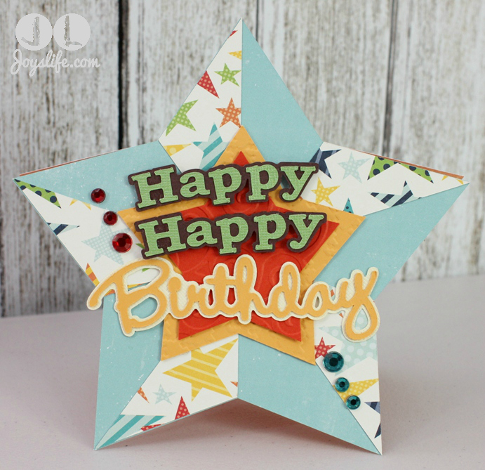 Ice Cream Cone gift box and star card at joyslife.com