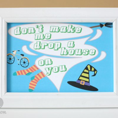 Happy Halloween Funny Framed Designs with Lettering Delights