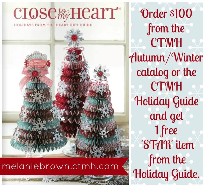 melanie brown ctmh holiday image