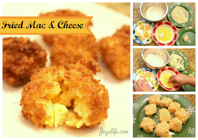 Fried Mac and Cheese #PlanAhead, #shop, #cbias