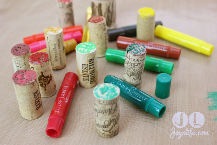 Christmas Wine Cork Tree with Gelatos #christmastree #winecork
