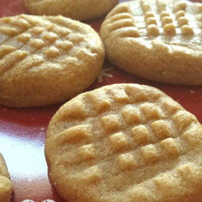 3 Ingredient No Flour Peanut Butter Cookies Recipe
