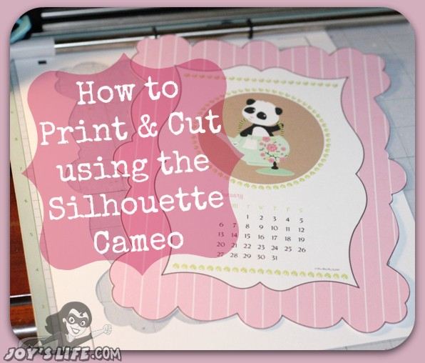 How to Print & Cut Using the Silhouette Cameo #SilhouetteCameo #diecut #tutorials