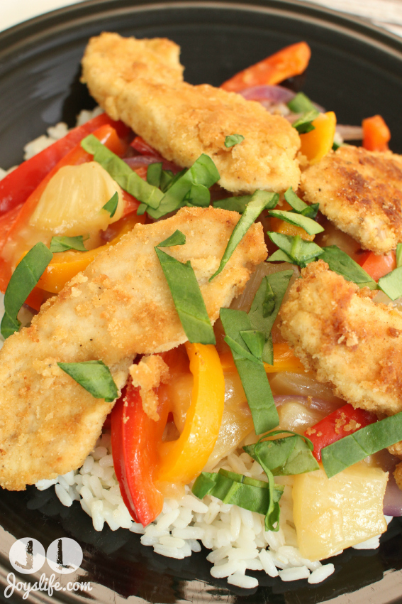 Gluten Free Pineapple Coconut Chicken #CollectiveBias #shop