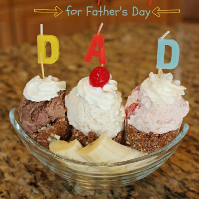 TWIX® Bites Banana Split Dessert Recipe for Father's Day