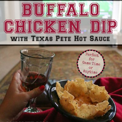 Buffalo Chicken Dip Recipe with Texas Pete Hot Sauce