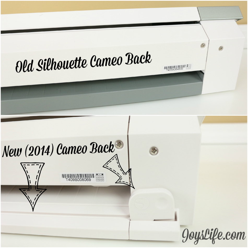New Silhouette Cameo 2014 Compared to Original Silhouette Cameo #SilhouetteCameo
