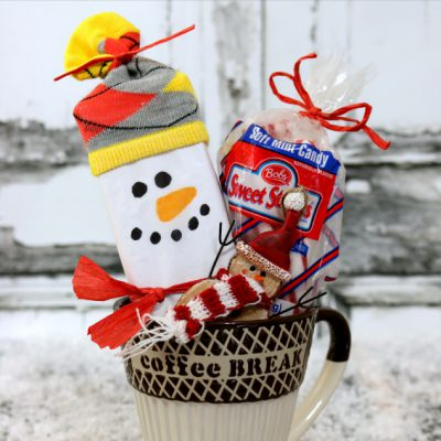 Snowman Coffee Holiday Gift Idea – Quick Easy & Under $10
