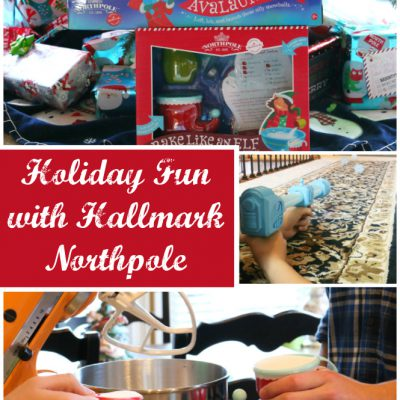 Holiday Fun with Hallmark Northpole
