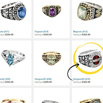 Creating a Jostens High School Class Ring with My Son