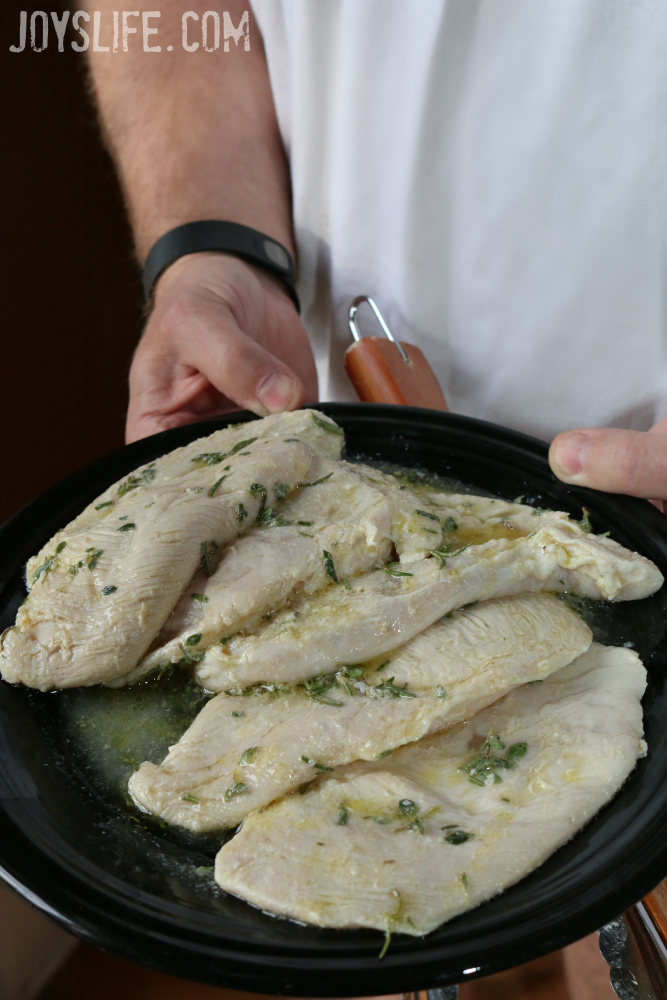 Fresh Herb Chicken Marinade for Grilling #KettlemanKicksAsh  #ad
