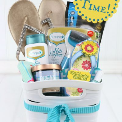Mother's Day Pedicure Gift Basket Ideas