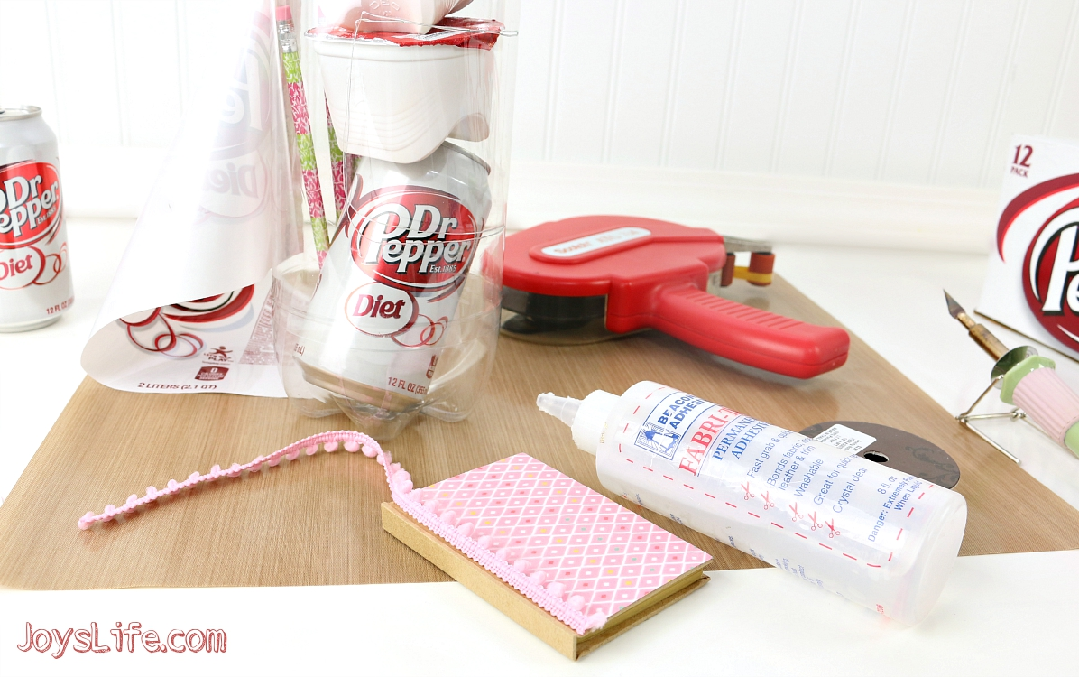Make a 2 Liter Bottle Gift that's perfect for a college send off or a roommate gift!  #BeReadyPlayBook #Ad
