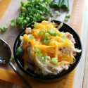 Slow Cooker Cheesy Ham Hash Brown Casserole