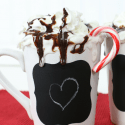How to Make Chalkboard Vinyl Mugs
