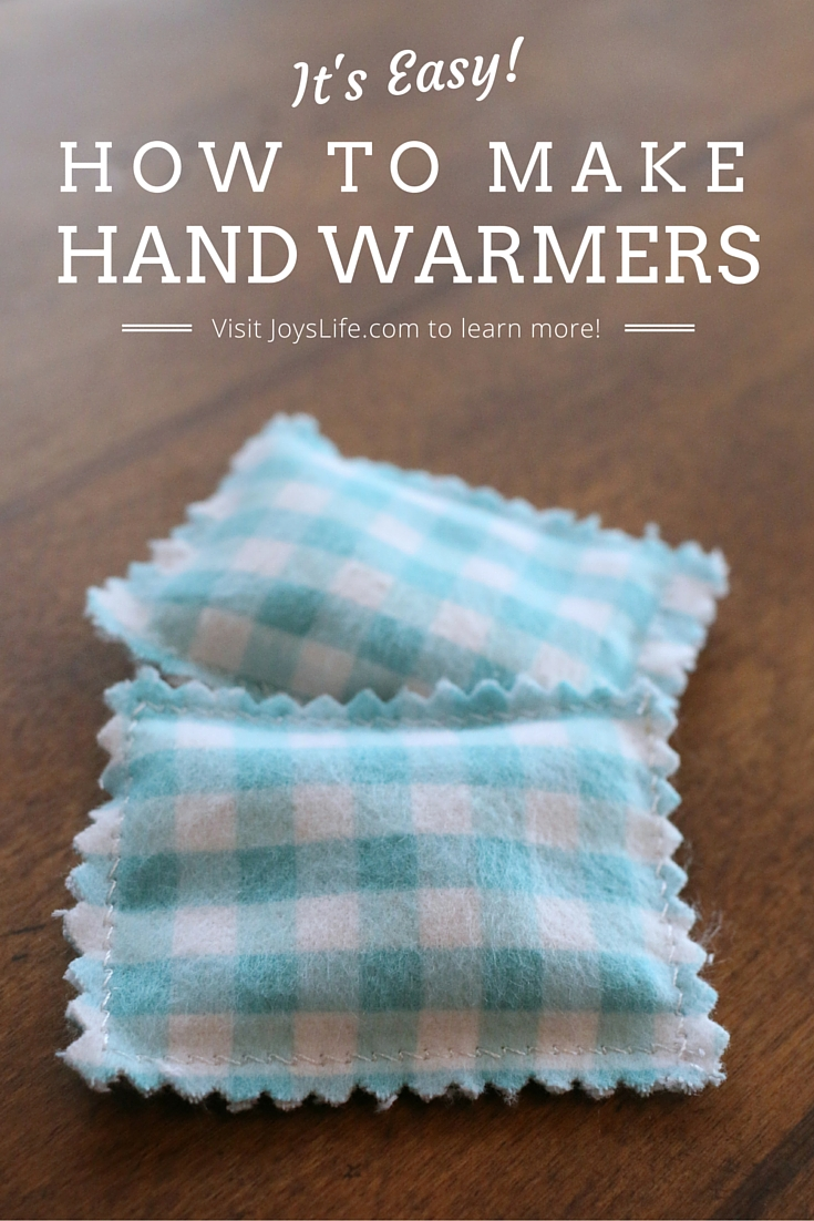 How to Make Hand Warmers