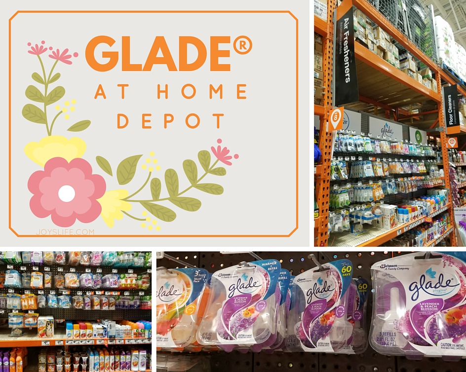 Glade at Home Depot