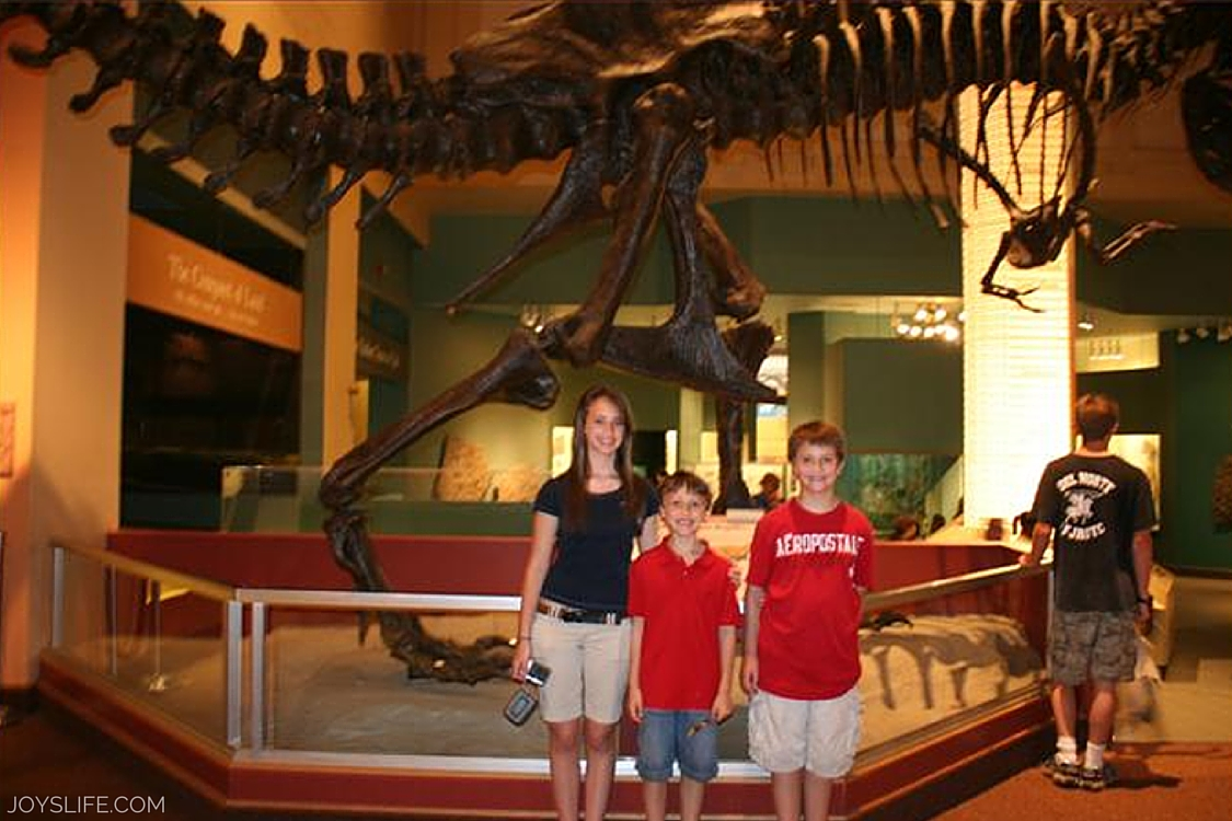 smithsonian dc with the kids