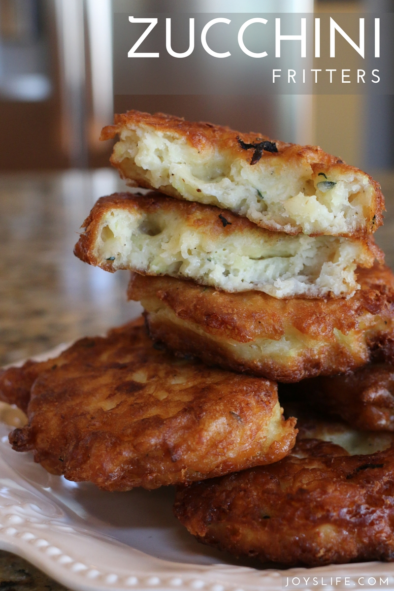 Fried Zucchini Fritters Recipe