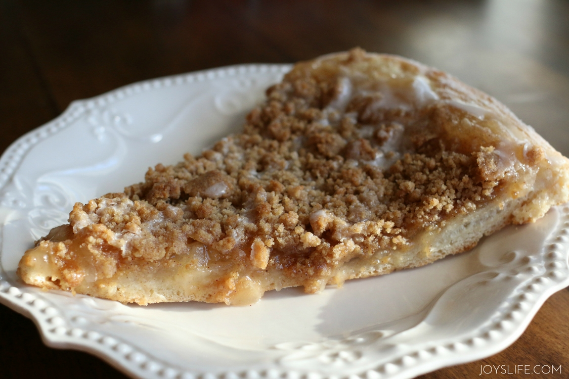 Apple Pie Dessert Pizza | Joy's Life