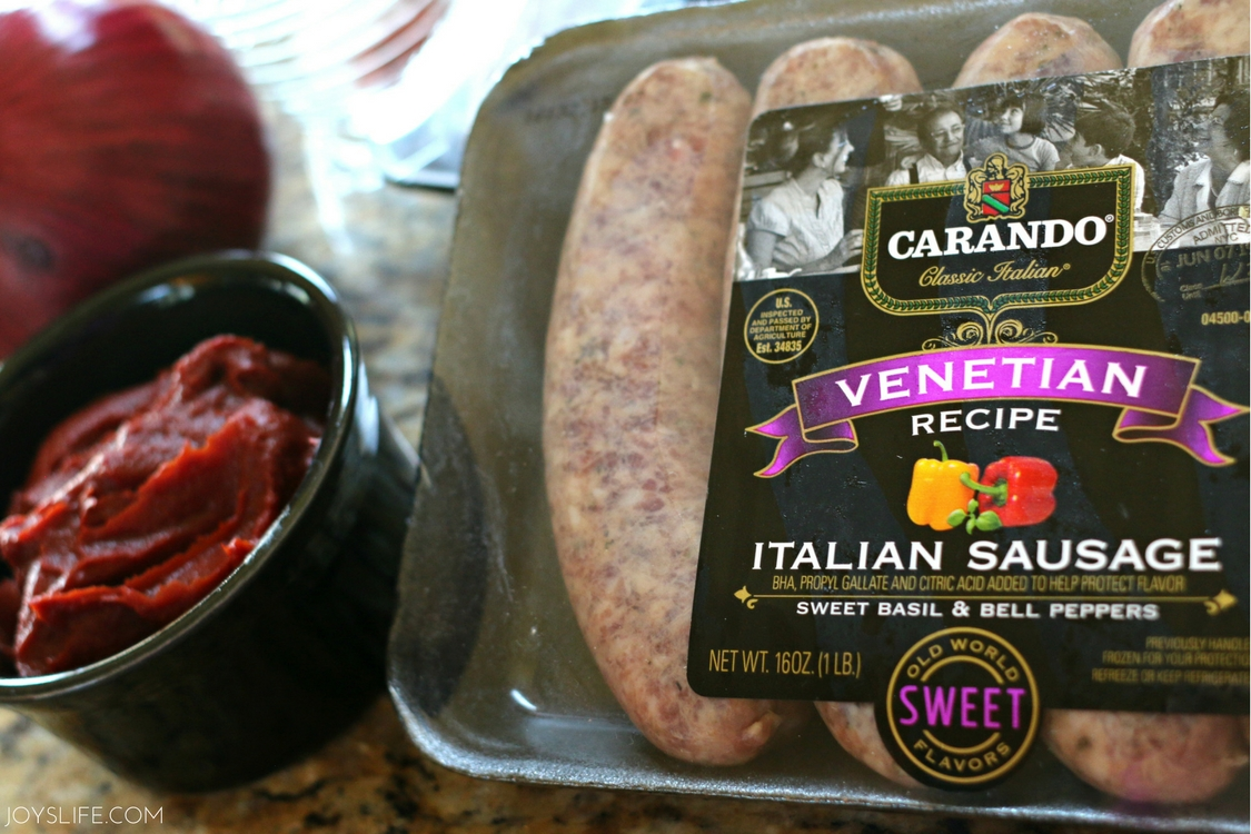Italian Sausage Package