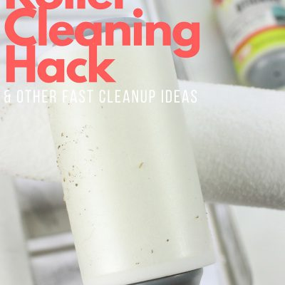 Paint Roller Cleaning Hack & Other Fast Cleanup Ideas