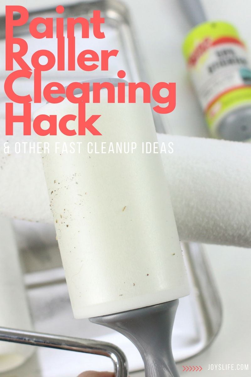 Paint Roller Cleaning Hack