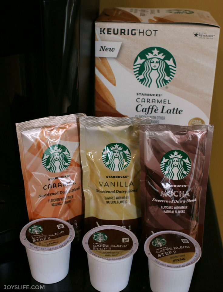 new starbucks latte 2 step kcups