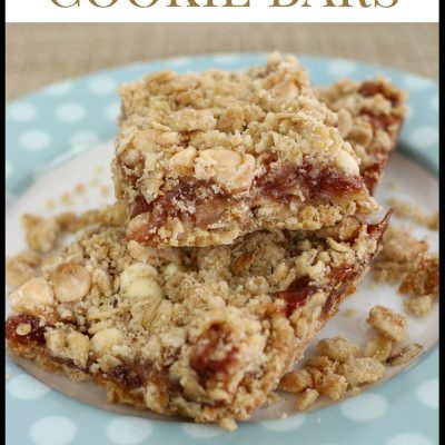 Strawberry Oatmeal Cookie Bars Recipe