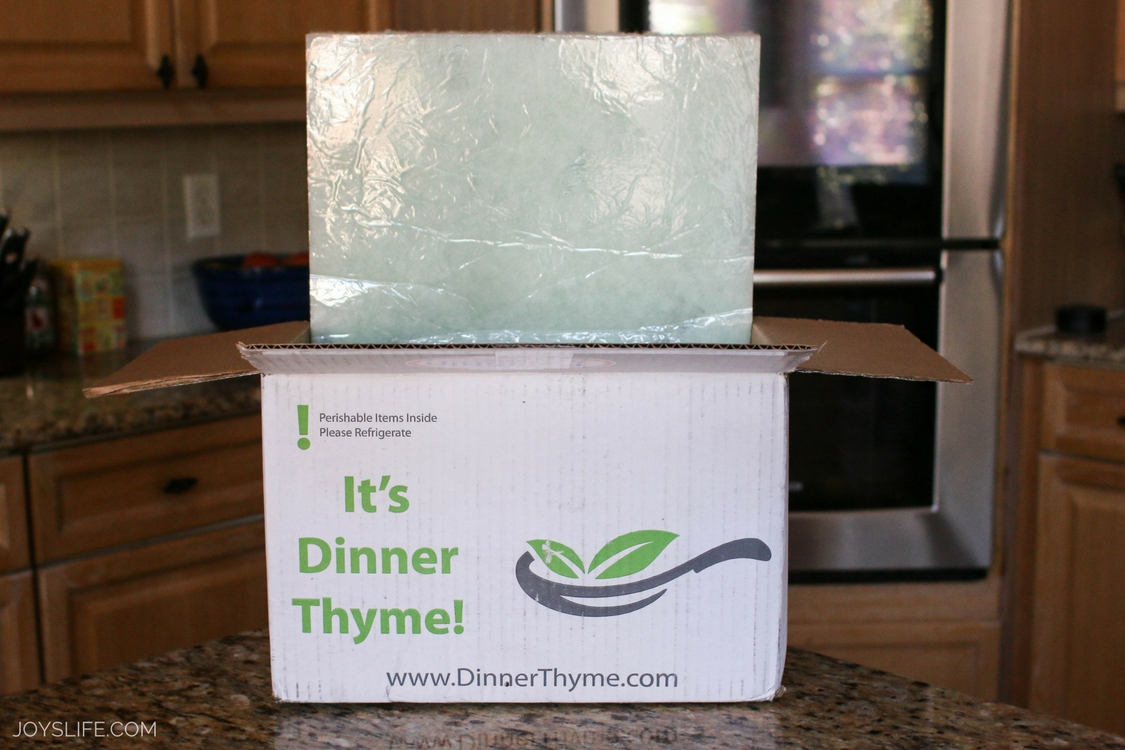 Dinner Thyme Meal Delivery Review Joy 39 S Life