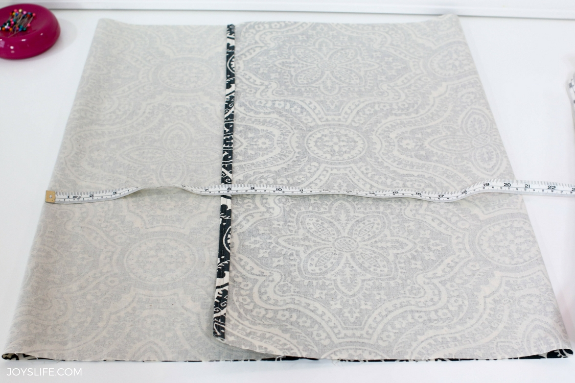 folded envelope pillow