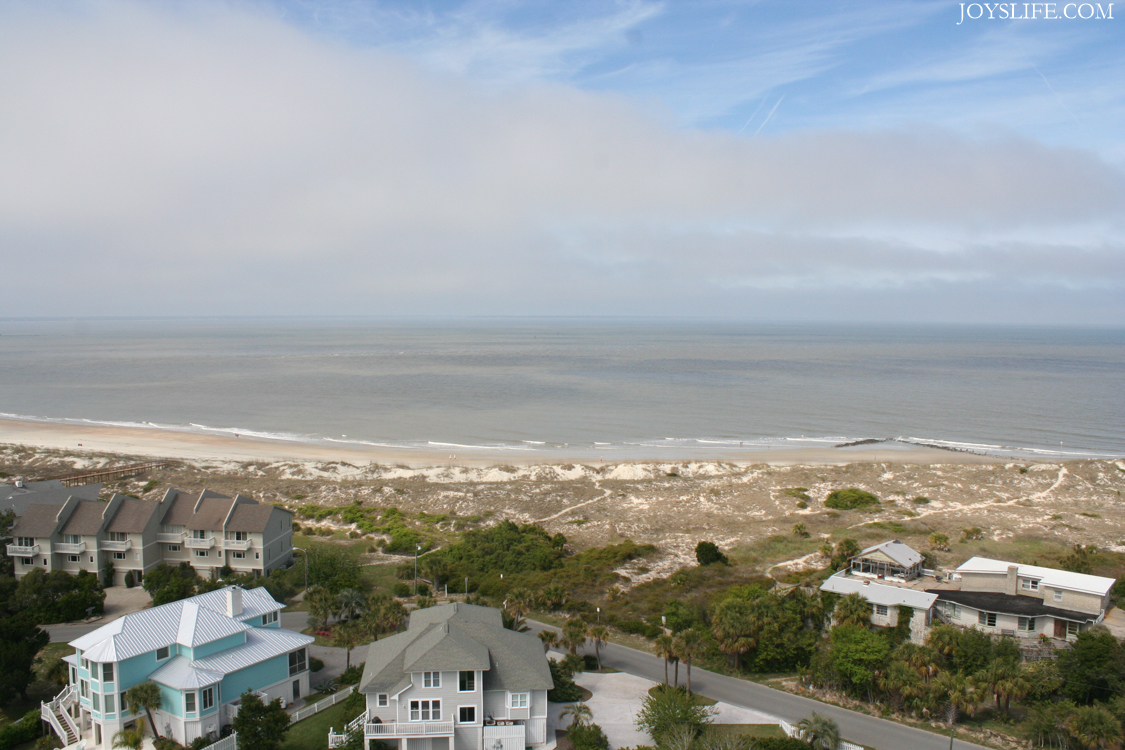 Tybee Island from the lighthouse