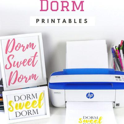 Dorm Sweet Dorm Printable