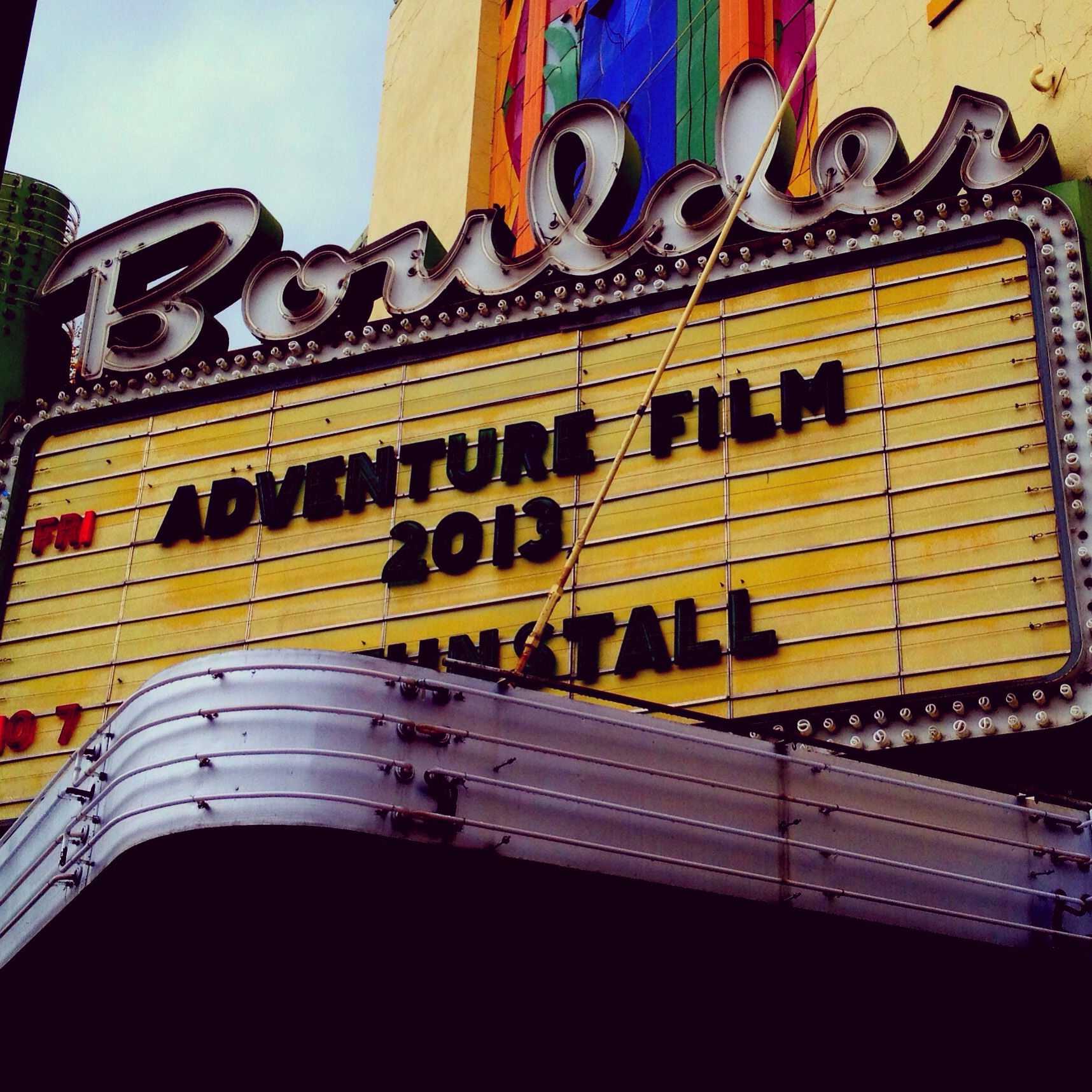 Adventure Film Marquee