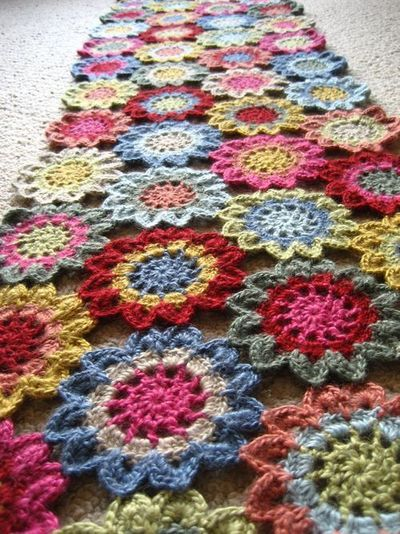 Japanese Flower Scarf At Attic 24 Crochet Ideas And Tips