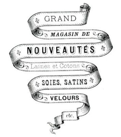 The Graphics Fairy - DIY French Transfer Printable - Ribbon