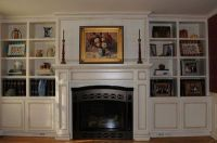 idea for bookshelves beside the fireplace / For the home ...