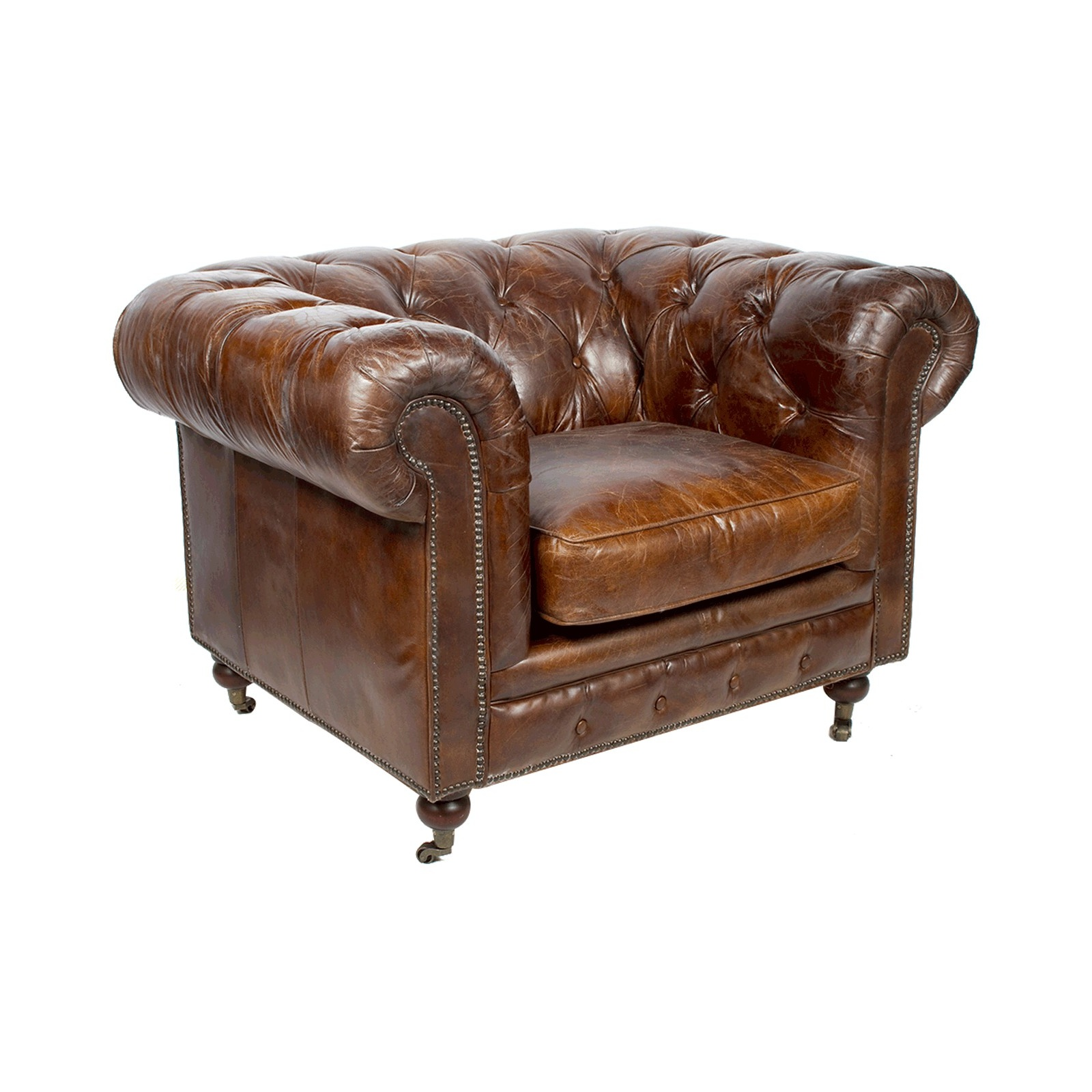 Fauteuil Chesterfield Origine Chesterfield Cigare