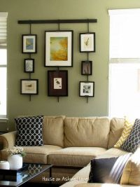 Green and Tan Living Room / For the home - Juxtapost
