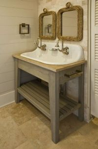 hmmmm... farmhouse bathroom sinks option 2? / bath ideas ...