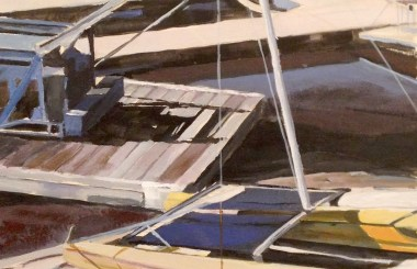 Docks at Arrowhead Lake