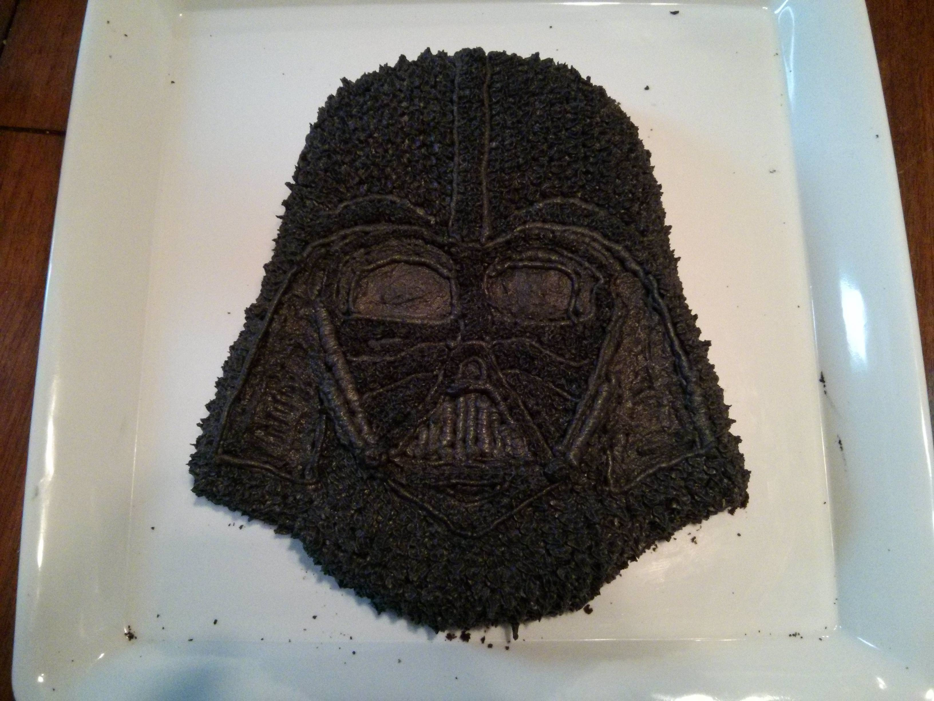 Darth Vader Kuchen Epic Homemade Darth Vader Cake Jpegy What The Internet Was