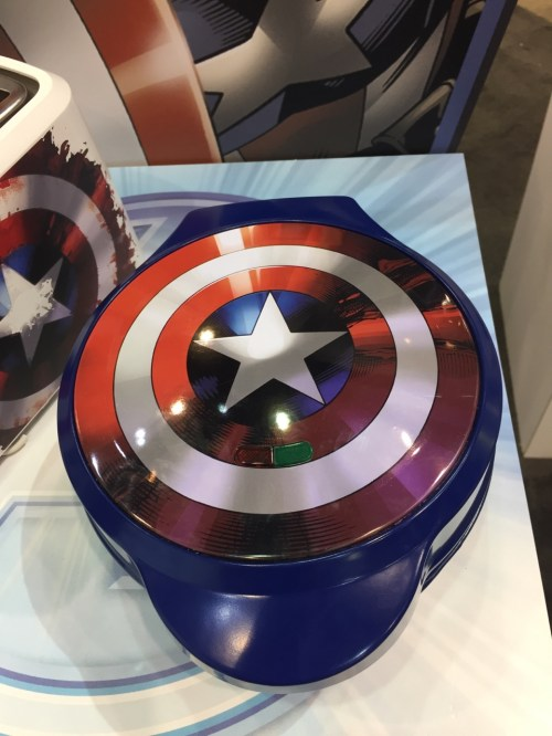 Medium Of Captain America Waffle Maker