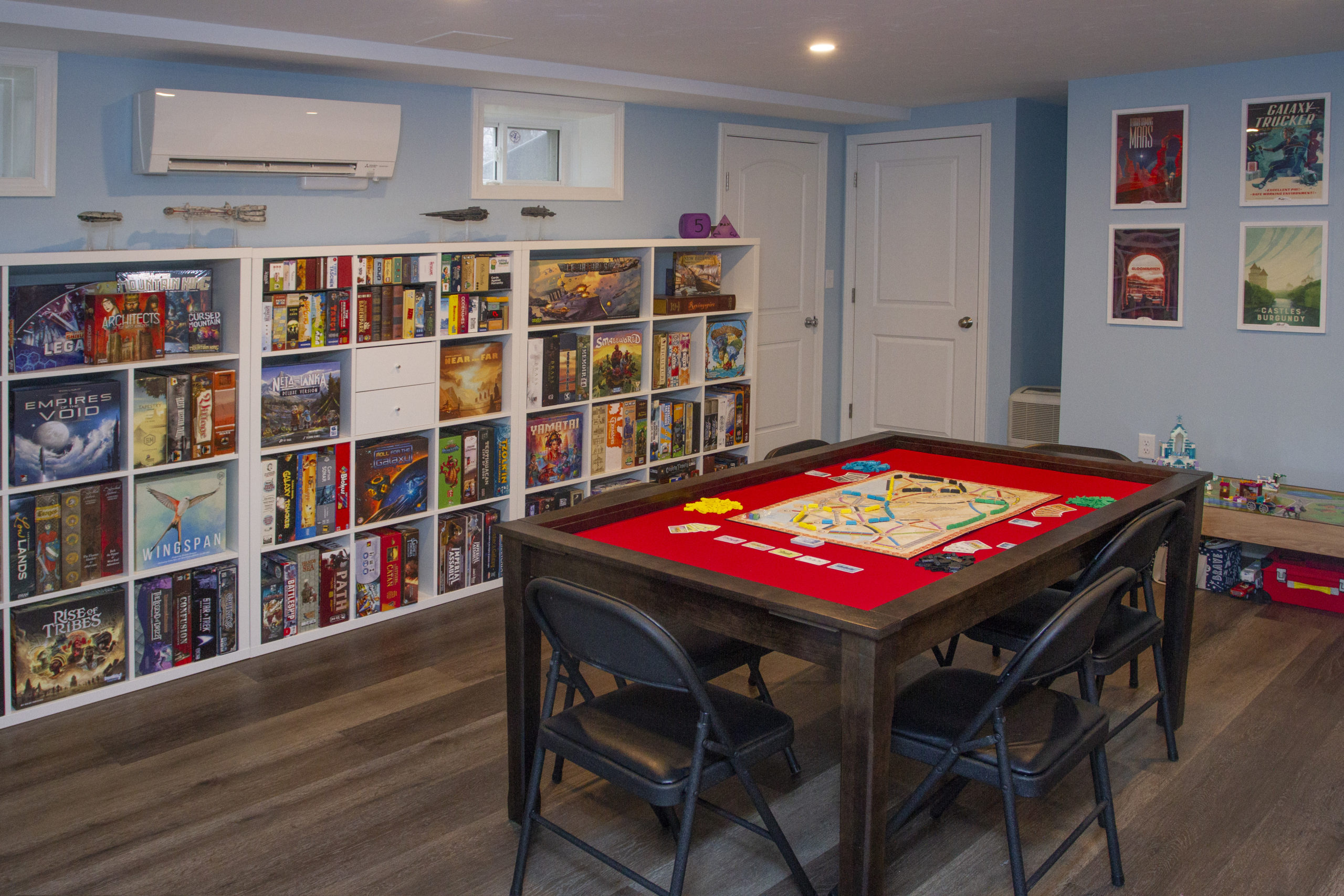 A Basement Renovation For Board Game Enthusiasts J P Hoffman Design Build Basement Renovations