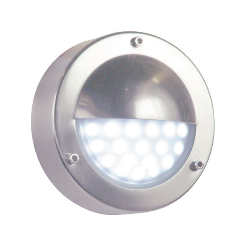 Eclairage Basse Tension Led Applique Ronde 18 Leds Blanche 220v Eclairage Basse