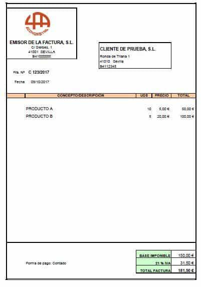 Factura rectificativa cómo corregir los errores de las facturas